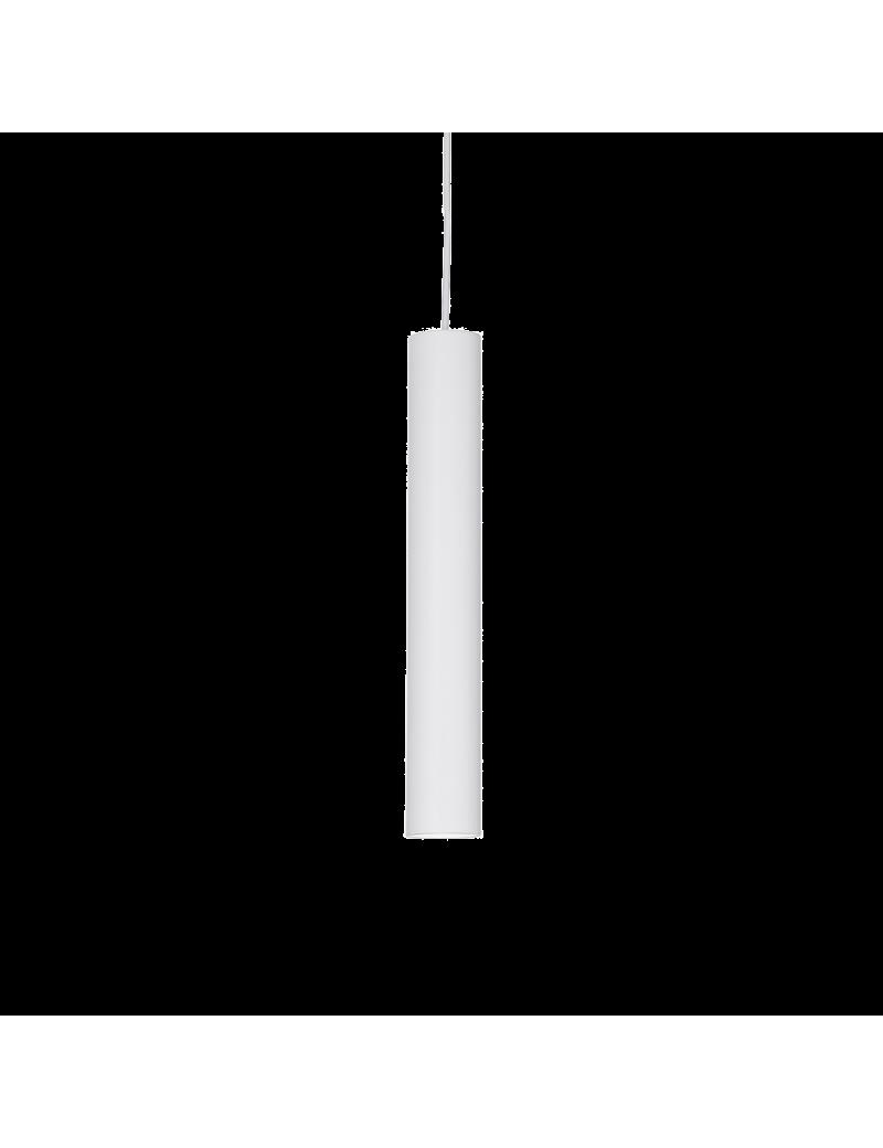 IDEAL LUX: Look SP1 sospensione lampada cilindro pendente small bianco in offerta