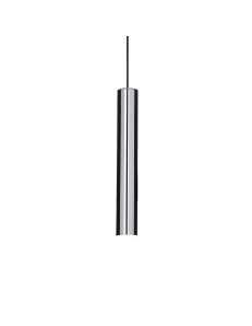 IDEAL LUX: Look SP1 sospensione lampada cilindro pendente small cromo in offerta