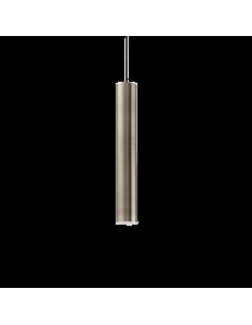 IDEAL LUX: Look SP1 sospensione lampada cilindro pendente small brunito in offerta