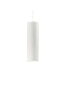IDEAL LUX: Look SP1 sospensione lampada cilindro pendente big bianco in offerta
