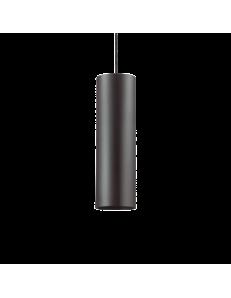 IDEAL LUX: Look SP1 sospensione lampada cilindro pendente big nero in offerta