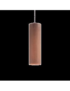 IDEAL LUX: Look SP1 sospensione lampada cilindro pendente big corten in offerta