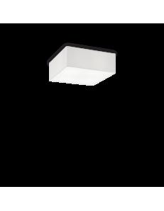 IDEAL LUX: Ritz PL4 plafoniera quadrata bianca 40x40 cm in offerta