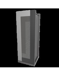 CALLEADESIGN: Stripes portaombrelli moderno da ingresso geometrico color radica grigia in offerta