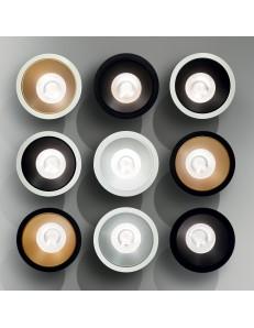 IDEAL LUX: Game round faretto LED da incasso scegli il colore gradito in offerta