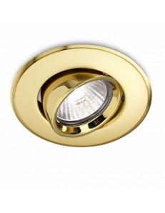 GEA LUCE: Faretto gu10 da incasso controsoffitto tondo oro led orientabile in offerta