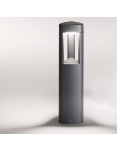 Lampioncino da esterno giardino ip54 gx53 led h50 antracite moderno