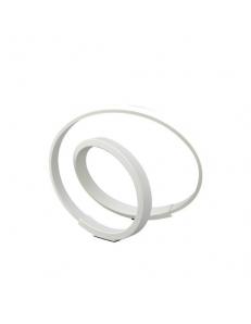MANTRA: Infinity white abatjour lampada comodino led 12w 2800k design moderno in offerta