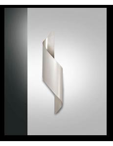 Fanes applique big led 50cm grigio perla