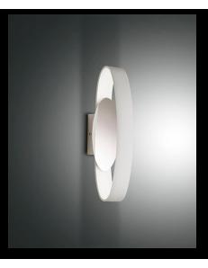 FABAS LUCE: Gaby applique led 32cm in metallo bianco in offerta
