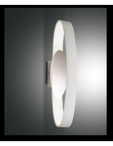 FABAS LUCE: Gaby applique led 53cm in metallo bianco in offerta