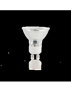 Lampadina GU10 7 watt LED cob faretto vetro spotlight 60° luce naturale