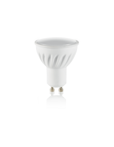 IDEAL LUX: Lampadina GU10 7 watt LED cob faretto ceramica spotlight 100° luce calda in offerta