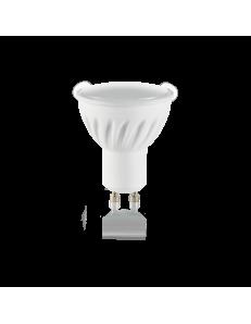 Lampadina GU10 7 watt LED cob faretto ceramica spotlight 100° luce calda