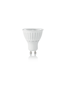 IDEAL LUX: Lampadina GU10 8 watt LED cob faretto vetro ceramica spotlight 38° luce calda in offerta