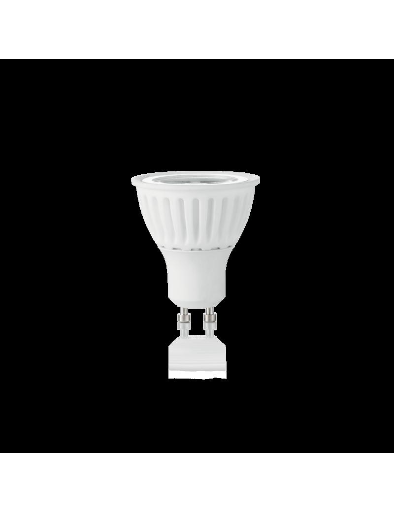 IDEAL LUX: Lampadina GU10 8 watt LED cob faretto vetro ceramica spotlight 38° luce calda in offerta