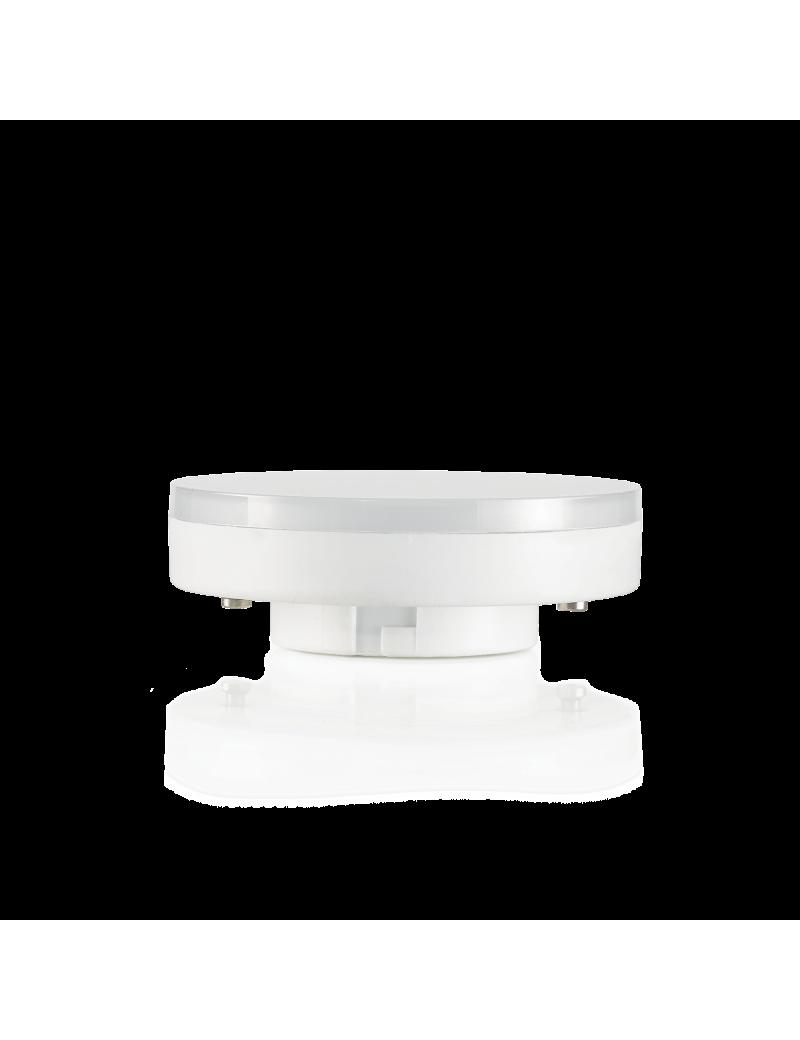 IDEAL LUX: Lampadina led GX53 7 W bulb disc 200° luce calda 3000k in offerta