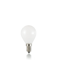 IDEAL LUX: Lampadina E14 led 4w sfera bianco luce calda in offerta
