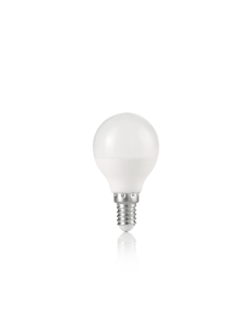 IDEAL LUX: Lampadina E14 led 7 w sfera bianca luce calda in offerta