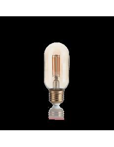 Lampadina E27 led 4 w BOMB vetro ambra vintage luce calda