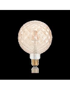 IDEAL LUX: Pearl lampadina E27 led 4w vetro ambra vintage luce calda in offerta