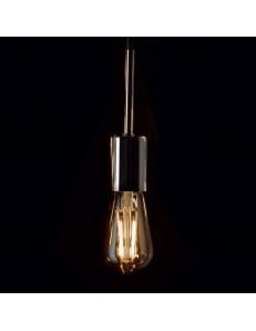 IDEAL LUX: Cono lampadina E27 led dimmerabile 4w vetro ambra vintage luce calda in offerta