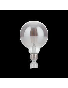 IDEAL LUX: Globo d95 lampadina E27 led 4w vetro fume vintage luce calda in offerta