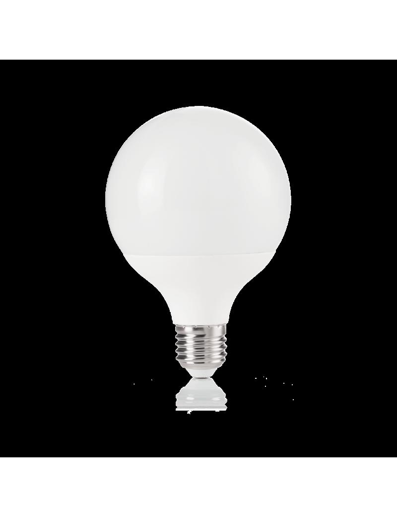IDEAL LUX: Globo d95 small E27 led 12w lampadina luce calda in offerta