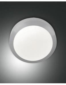 FABAS LUCE: Axel plafoniera IP65 esterno rotonda ø 20 grigio led 11 watt in offerta