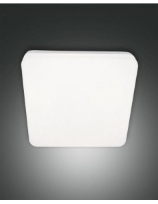 FABAS LUCE: Folk plafoniera IP65 quadrata led 27 watt policarbonato esterno bianco in offerta