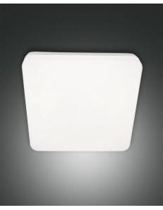 FABAS LUCE: Folk plafoniera IP65 quadrata led 27 watt policarbonato esterno bianco con sensore in