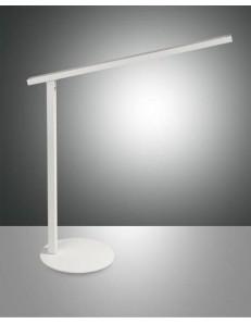 Ideal lampada Tavolo alluminio bianco led 10 watt
