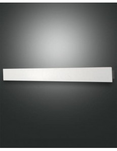 Lotus applique bianco rettangolare led 30 watt alluminio