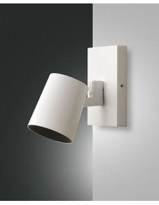 Modo Spot metallo bianco diffusore cilindro