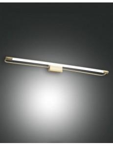 FABAS LUCE: Rapallo lampada Parete specchio ottone satinato led 20 watt in offerta