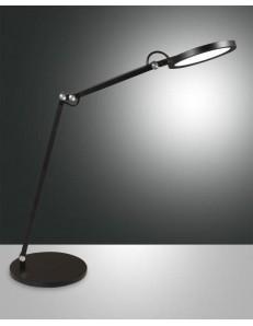 Regina lampada Tavolo led 9 watt nero regolatore luce
