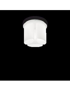 IDEAL LUX: Almond Pl3 Ø40 plafoniera rotonda moderna vetro incamiciato in offerta