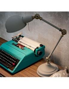 IDEAL LUX: Truman tl1 lampada da tavolo scrivania uffico grigio in offerta