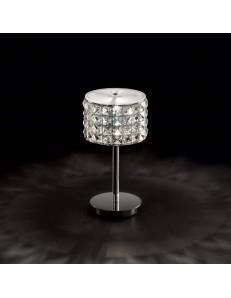 IDEAL LUX: Roma TL1 Lumetto in vetro e cristalli cromo in offerta