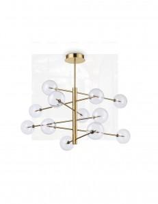 IDEAL LUX: Equinoxe sp12 lampadario 12 luci in metallo ottone in offerta