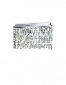 IDEAL LUX: Elisir pl6 plafoniera 6 luci con pendenti cristallo cromo in offerta