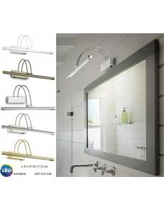 Bow ap66 applique bagno media LED inclinabile vari colori