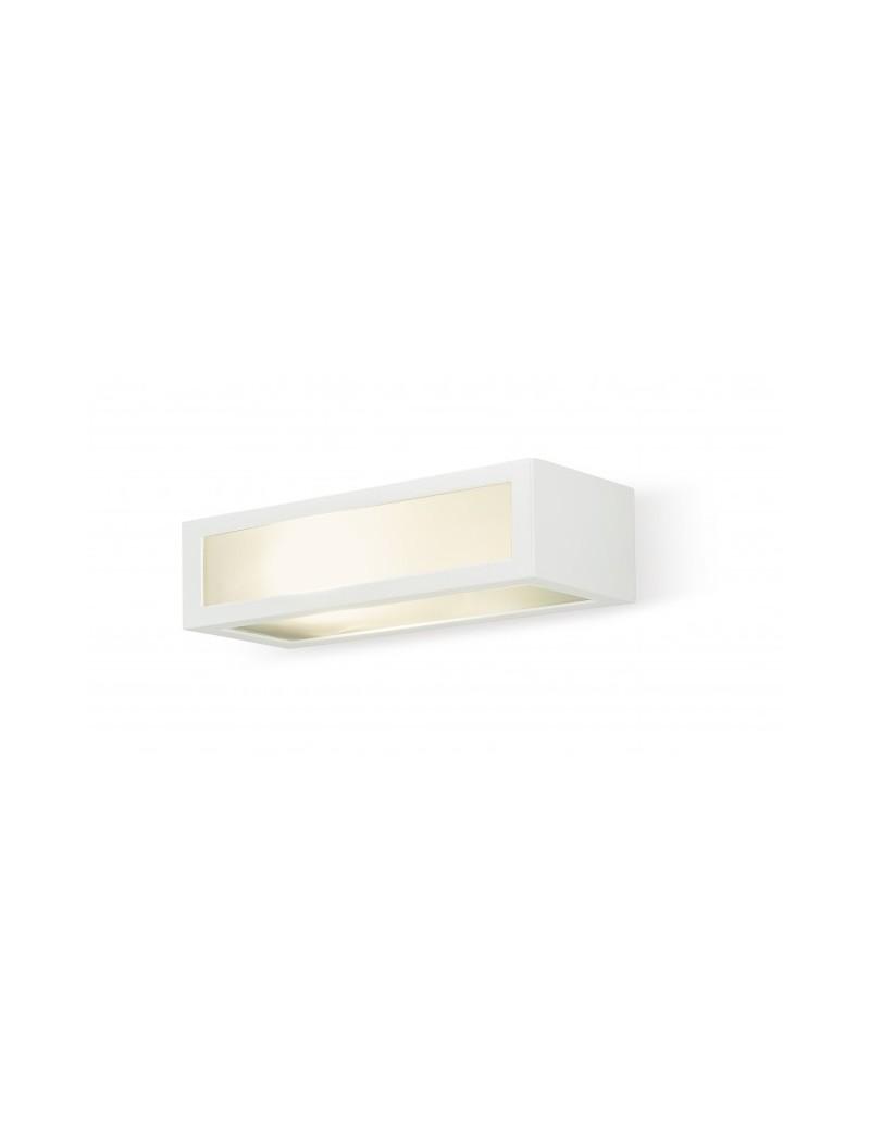 EXCLUSIVE LIGHT by promoIngross: ASTER Bianco Applique biemissione LED da parete per esterno in