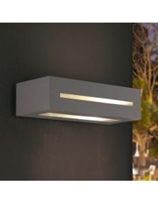 EXCLUSIVE LIGHT by promoIngross: ASTER applique biemissione LED da parete esterno in alluminio