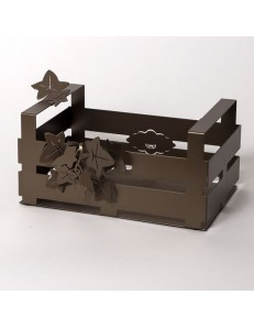 ARTI & MESTIERI: Edera cassettina centrotavola moderno cucina bronzo in offerta