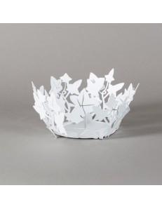 ARTI & MESTIERI: Edera centrotavola bianco moderno cucina design porta frutta in offerta