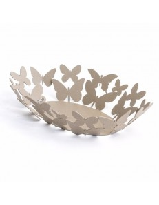 ARTI e MESTIERI: Butterfly ovale centrotavola beige soprammobile design moderno in offerta