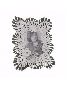 ARTI e MESTIERI: Monstera grande cornice portafoto verde garden e bianco marmo in offerta