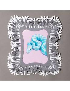 ARTI e MESTIERI: Soffione portafoto ardesia bianco soggiorno design moderno in offerta