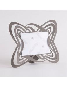ARTI e MESTIERI: Optical cornice portafoto da tavolo fango design moderno in offerta